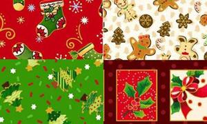 Telas Navidad