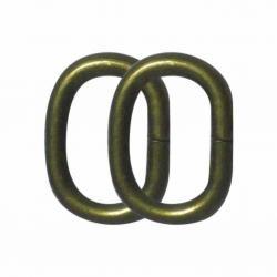 Cierre de forma oval